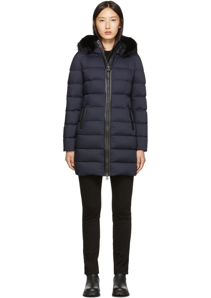 Mackage Navy Calla Down Coat