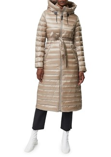 Mackage Portia Hooded Sateen Down Coat
