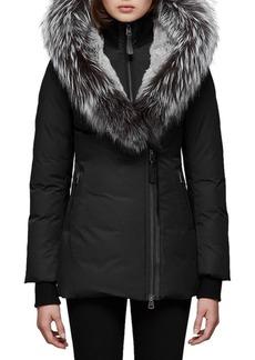 Mackage Priya-X Coat w/ Fox Fur Trim & Rabbit Fur Lining