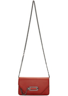Mackage Red Zoey Crossbody Bag