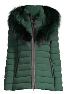 Mackage Kadalina Fox Fur-Trimmed Down Jacket