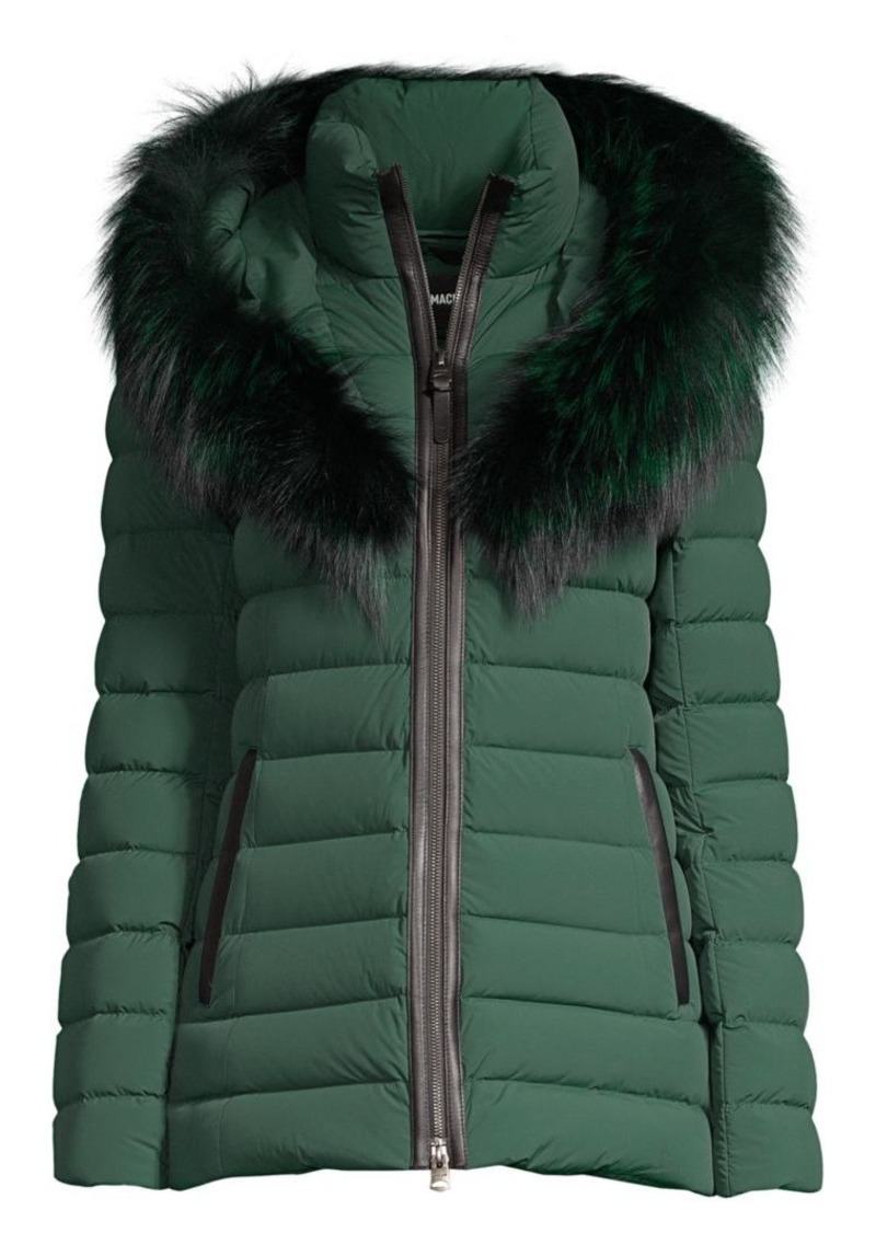 Mackage Kadalina Fox Fur-Trimmed Down Jacket
