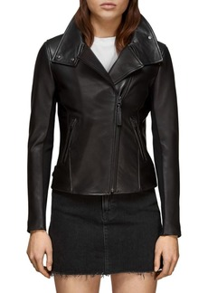 Mackage Sandy Classic Moto Leather Jacket