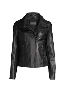 Mackage Sandy Leather Motto Jacket