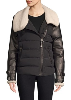 Mackage Jovie Sheepskin Down Jacket