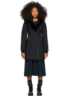 Mackage SSENSE Exclusive Black Down Kay-P Touch Coat