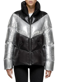 Mackage Two-Tone Down Puffer Jacket