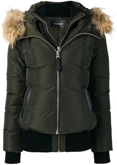 Mackage zipped hooded jacket