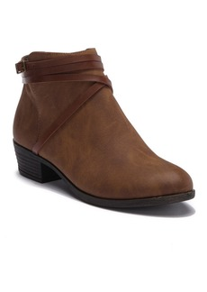 Madden Girl Beenson Faux Leather Ankle Bootie