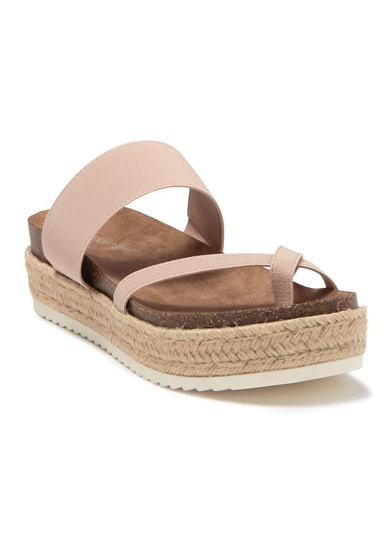 Madden Girl Case Platform Espadrille Sandal