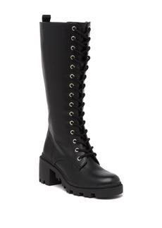 Madden Girl Dorina Lace-Up High Boot
