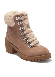 Madden Girl Hidde Faux Fur Detail Boot