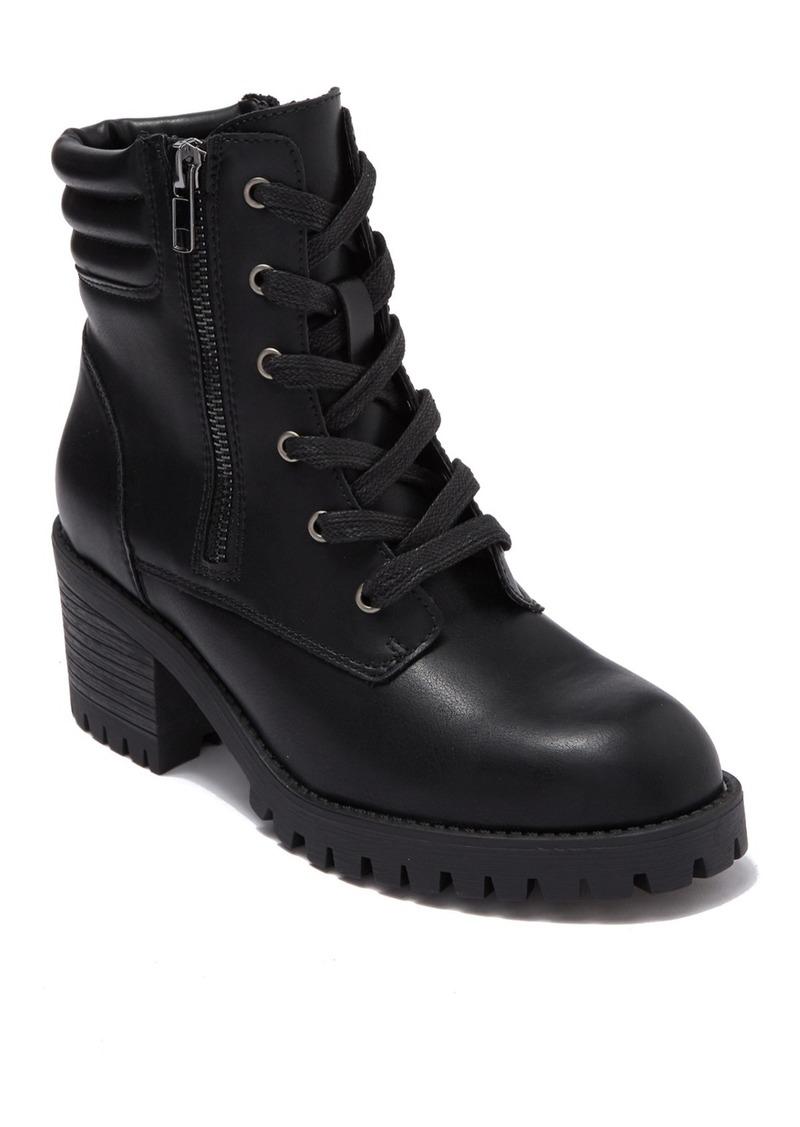 Madden Girl Hushh Lug Sole Boot