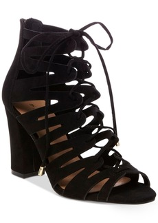 Madden Girl Banner Lace-Up Sandals Women's Shoes