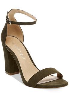 Madden Girl Bella Two-Piece Block-Heel Sandals