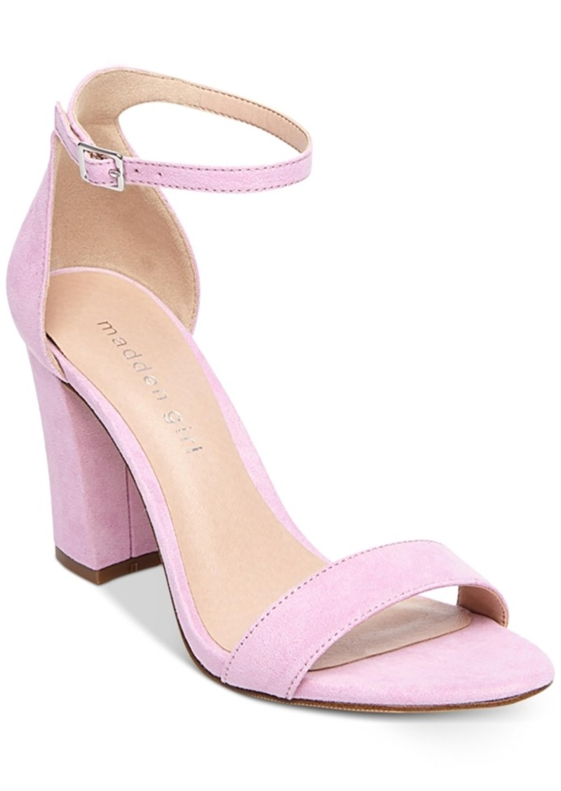 a5c01807efb034 Madden Girl Madden Girl Bella Two-Piece Block Heel Sandals