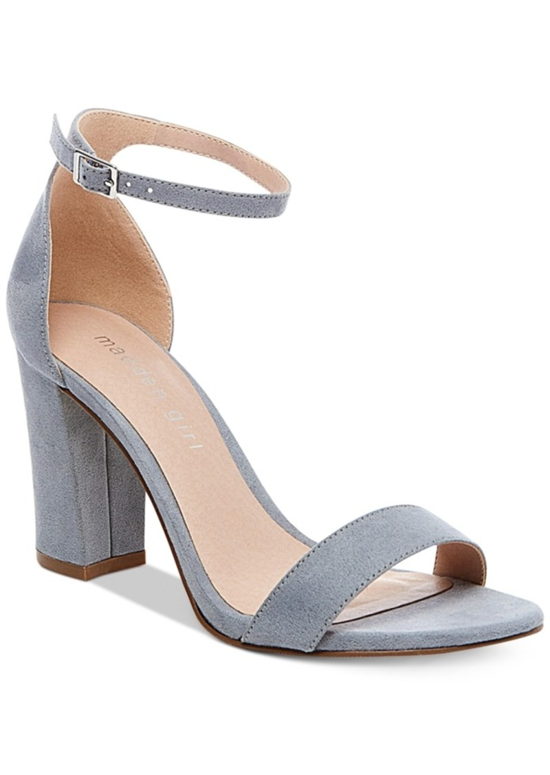 48f52a60f4 On Sale today! Madden Girl Madden Girl Bella Two-Piece Block Heel ...
