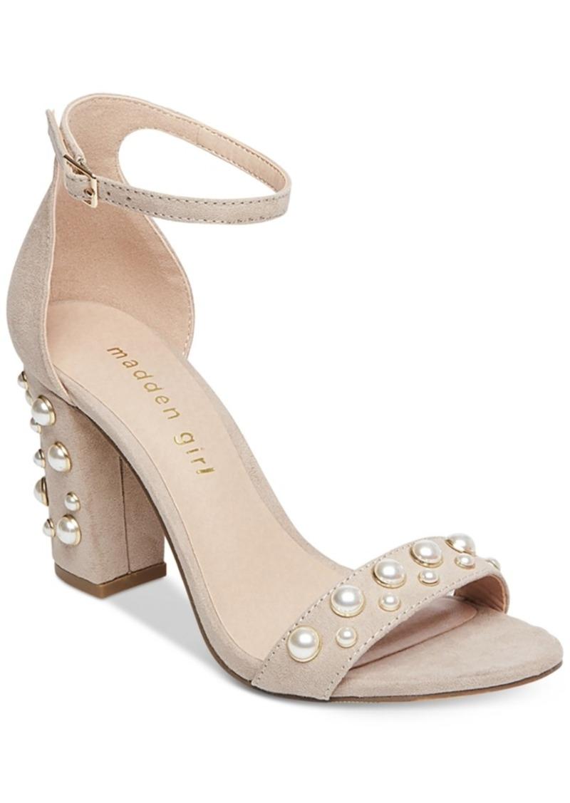 f246b49d479 SALE! Madden Girl Madden Girl Bitsy Two-Piece Block-Heel Sandals