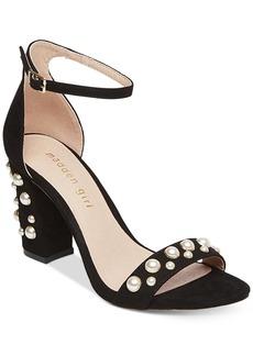 Madden Girl Bitsy Two-Piece Block-Heel Sandals Women's Shoes