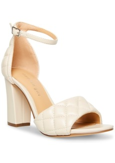 Madden Girl Blend-q Quilted Two-Piece Block-Heel Sandals