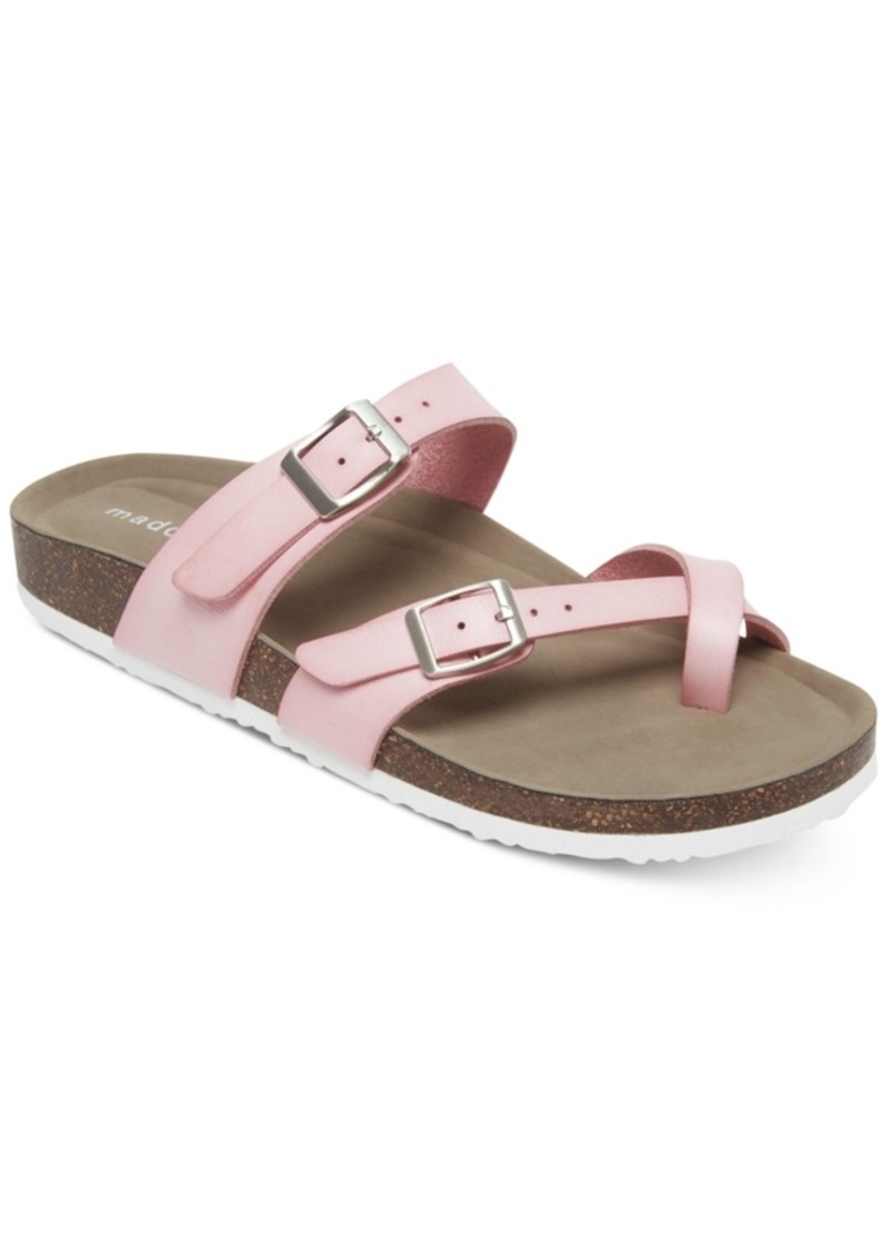 52a7b28ca079 Madden Girl Madden Girl Bryceee Footbed Sandals
