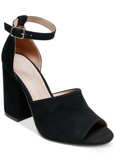 Madden Girl Clarah Two-Piece Block-Heel Sandals