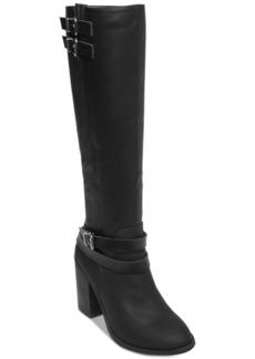 Madden Girl Edrea Block-Heel Boots