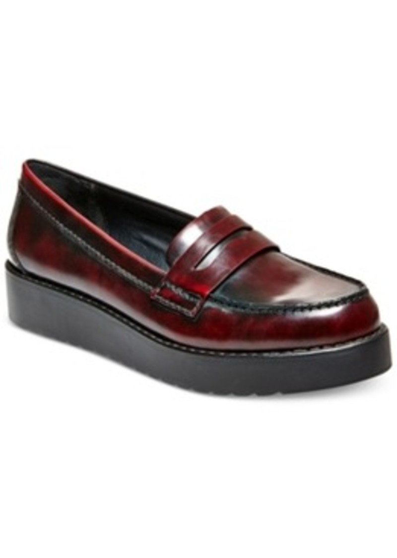 47edfd77d4f Madden Girl Madden Girl Empire Flatform Penny Loafers Women s Shoes ...