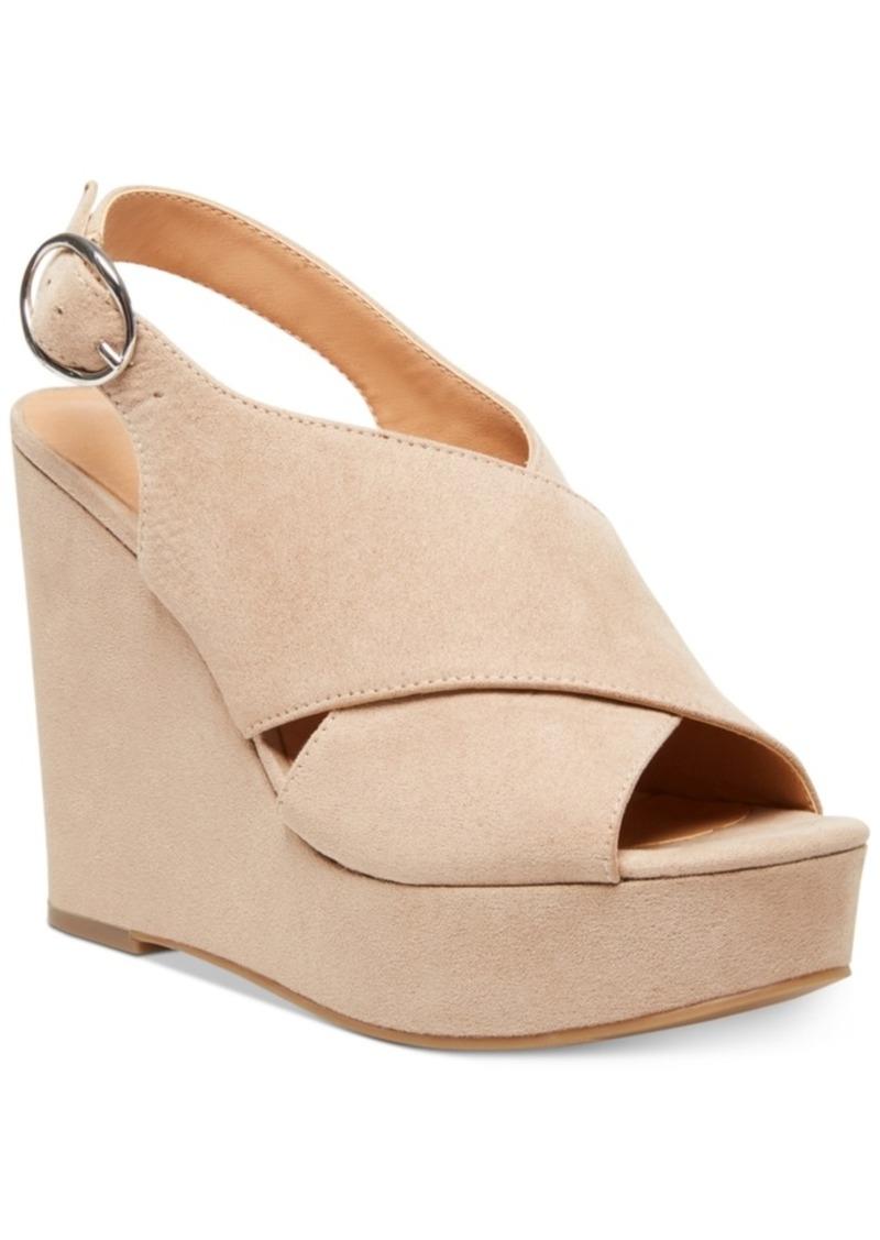 Madden Girl Greyson Platform Wedge Sandals