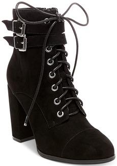 Madden Girl Klaim Combat Booties Women's Shoes