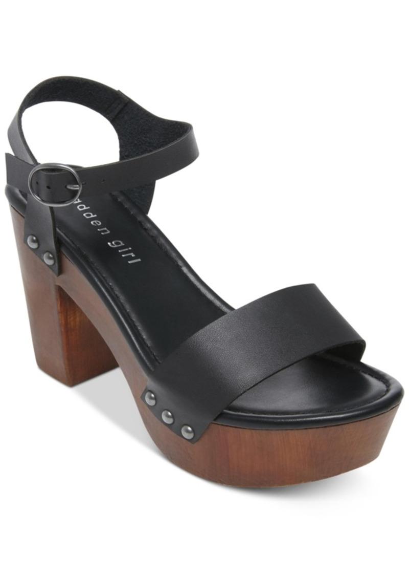 5fc7a80eada6 Madden Girl Madden Girl Lift Platform Sandals