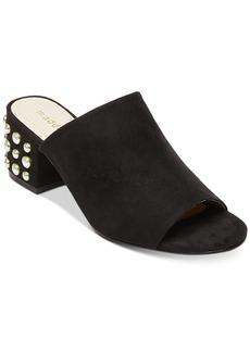Madden Girl Lorna-p Block-Heel Slides