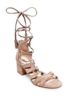 """Madden Girl """"Loverrr"""" Lace Up Ghille Sandals"""