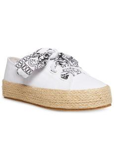 Madden Girl Mimii Bandana-Lace Espadrille Sneakers
