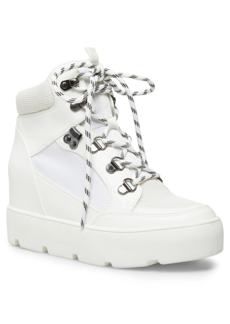 Madden Girl Negan Lace-Up Hiker Wedge Sneakers