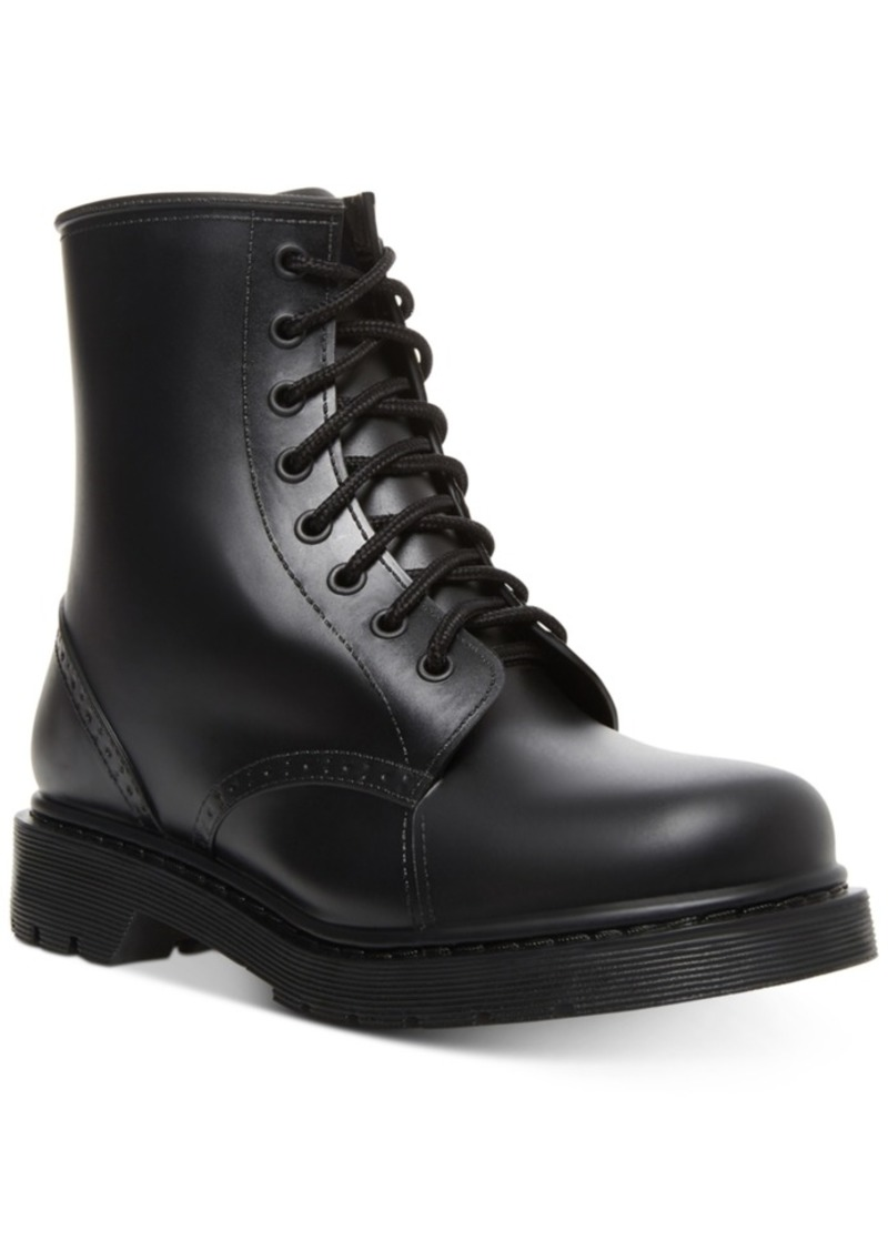 Madden Girl Portland Lace-Up Rain Booties