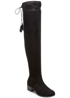 Madden Girl Prissley Over-The-Knee Tassel Stretch Boots Women's Shoes