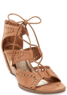 Madden Girl Rally Perforated Wedge Sandals Women's Shoes
