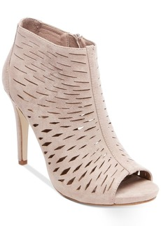 Madden Girl Rockella Perforated Dress Booties Women's Shoes