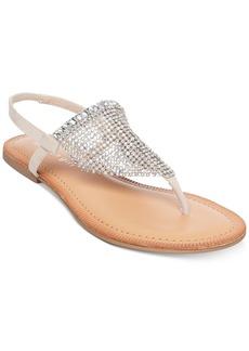 Madden Girl Sabell Embellished Slide Sandals