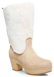 Madden Girl Sanza Faux-Fur Clog Boots