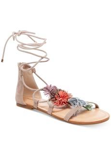 Madden Girl Sofun Lace-Up Tassel Sandals Women's Shoes