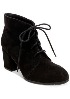 Madden Girl Torch Block-Heel Booties Women's Shoes