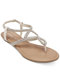 Madden Girl Trudi Embellished Thong Sandals
