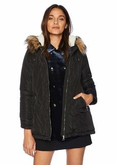 Madden Girl Women's Anorak Fashion Jacket  L