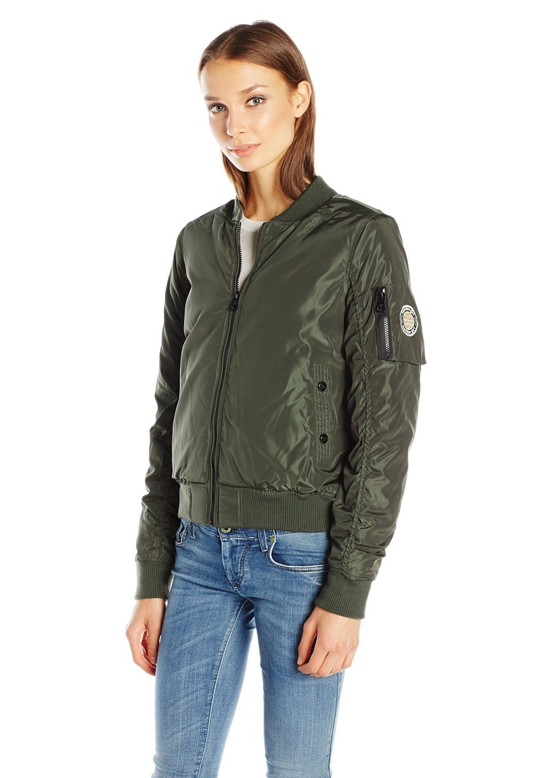 Madden Girl Women's Bomber Jacket  L