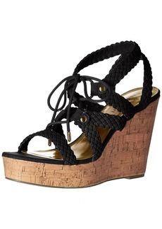 Madden Girl Women's Emboss-c Wedge Sandal