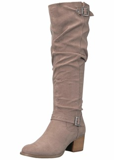 Madden Girl Women's FLAASH Knee High Boot   M US