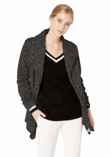 Madden Girl Women's Fleece Wrap Coat  XL