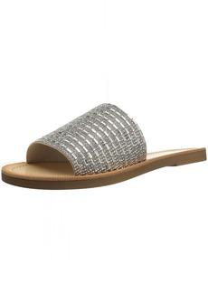 Madden Girl Women's Lulu Slide Sandal  6 M US